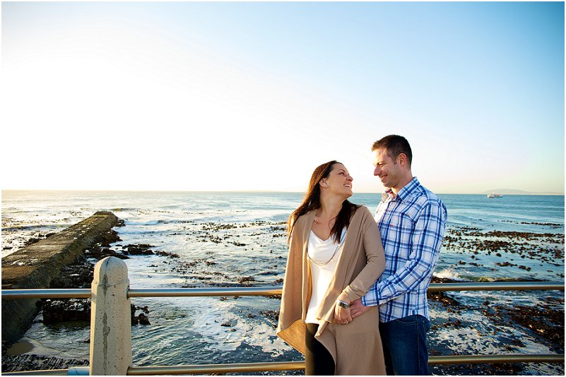 Mouille Point engagement photos