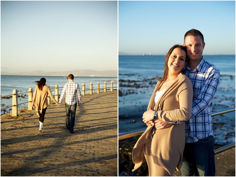 DMouille Point engagement photos